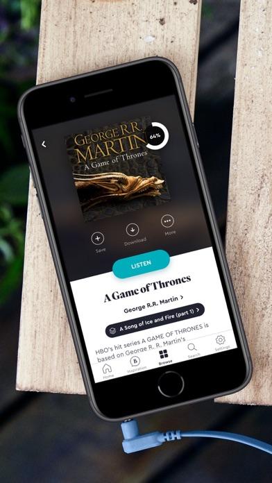 Screenshot #2 pour BookBeat Audiobooks & E-books