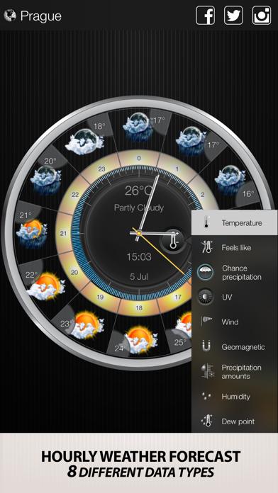 Weather Clock Widget på PC