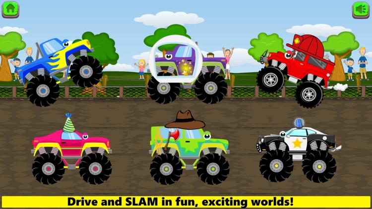 Monster Trucks Game Kids FULL screenshot-4