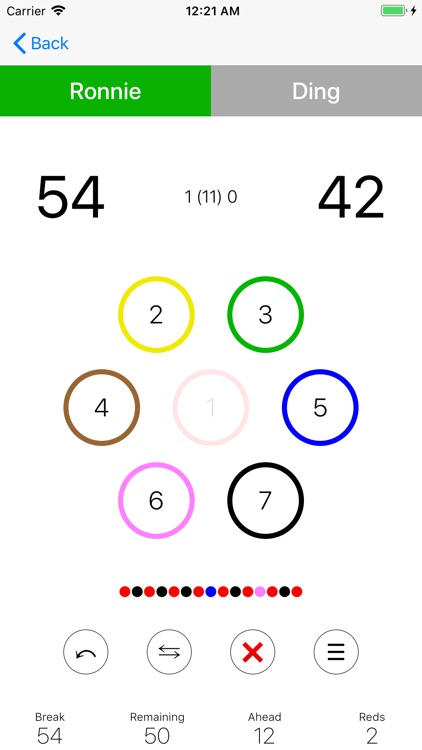 Billiard Score screenshot-4