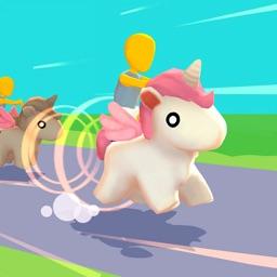 Unicorn Race 3D