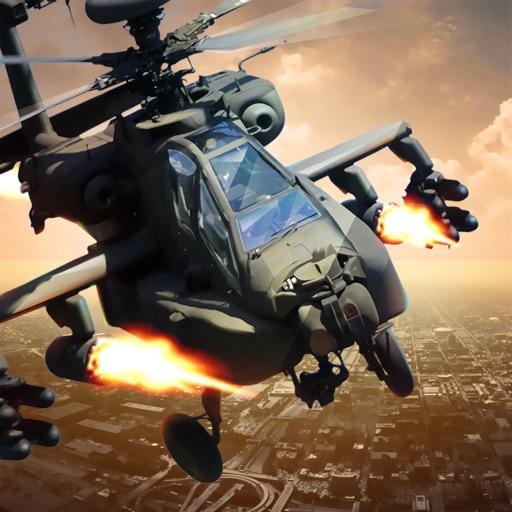 вертолет: 3D воздушный удар