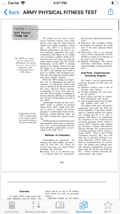 APFT Calculator and Resources screenshot-4