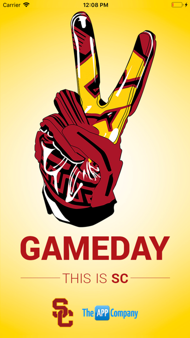USC Trojans Gameday App screenshot one