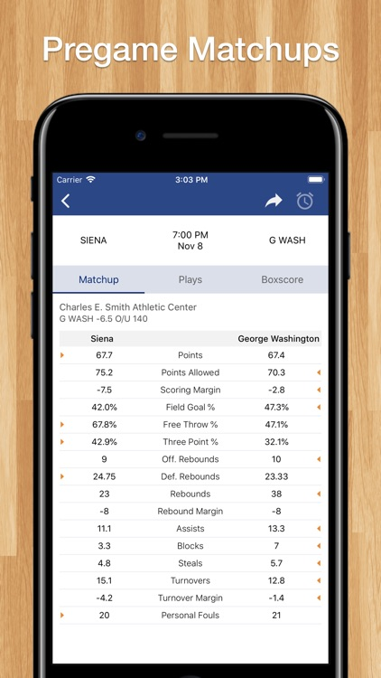 Scores App: College Basketball screenshot-7