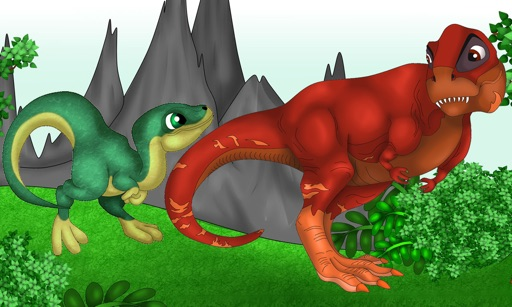 Dinosaur Labyrinth kid game
