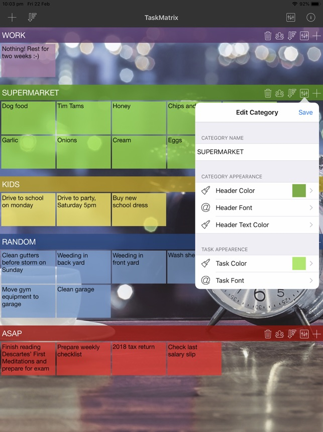 ‎TaskMatrix Screenshot