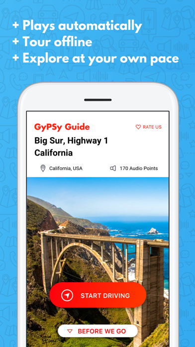 Big Sur Highway 1 GyPSy Guide Screenshot