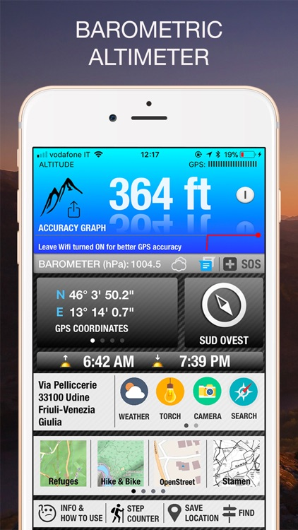 Altimeter GPS PRO