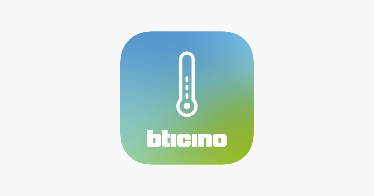 Bticino Thermostat On The App Store