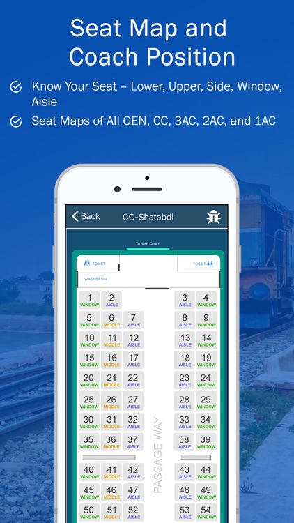 PNR, Live Train Status & Metro screenshot-5