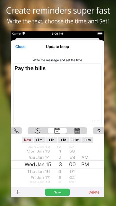 Reminders by Beep Me Screenshots