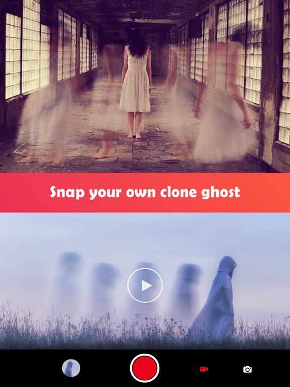 Ghost Lens+Selfie Photo Video Editor,Awesome Collage Maker Plus Filter Blender screenshot