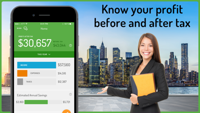 Hurdlr Mileage, Expenses & Tax Screenshot