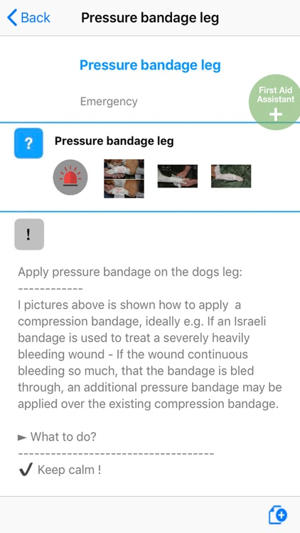 first aid for dogs K9 screenshot-4