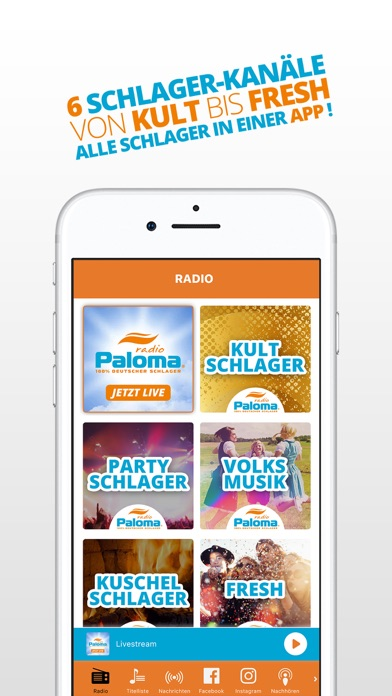 messages.download Schlager Radio Paloma software