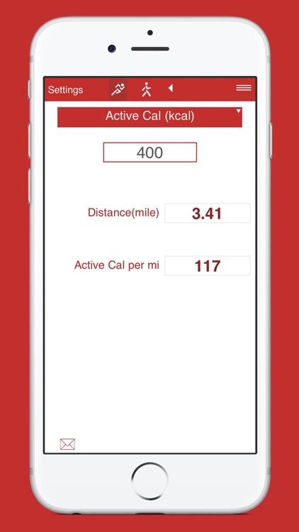 Running and Walking Calories screenshot-6