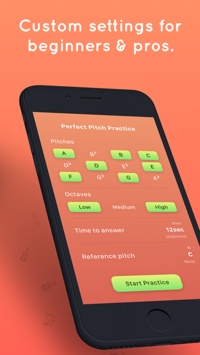 Tone - Learn Perfect Pitch! Screenshot