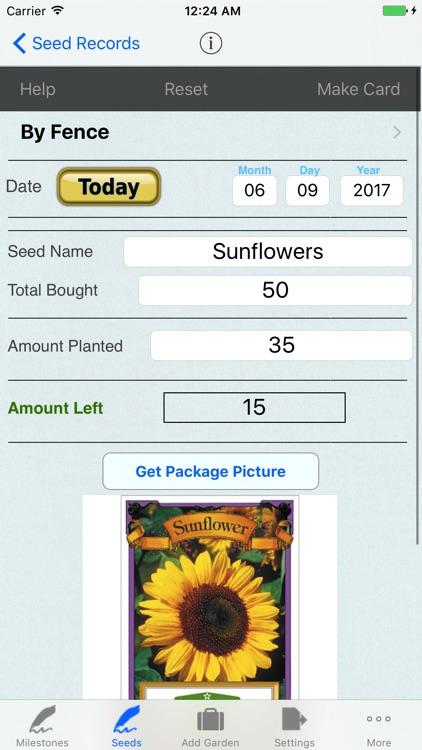 Garden,Seed Tracker,Organizer