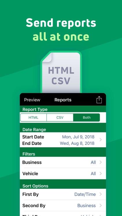 MileBug - Mileage Tracker Log screenshot-3