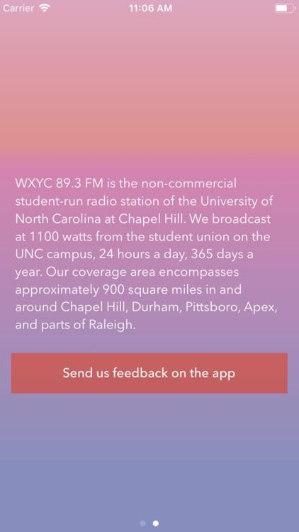 WXYC Radio