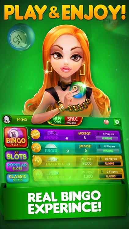 Bingo City 75: Bingo & Slots screenshot-0