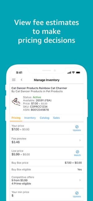 amazon seller central app