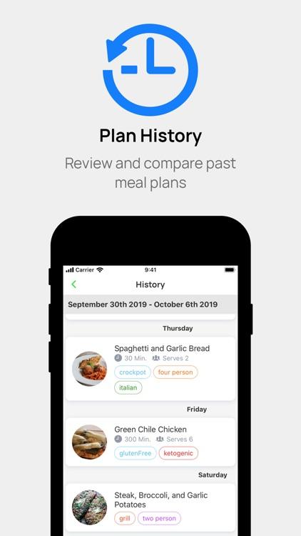 Carte - Easy Meal Plans screenshot-4