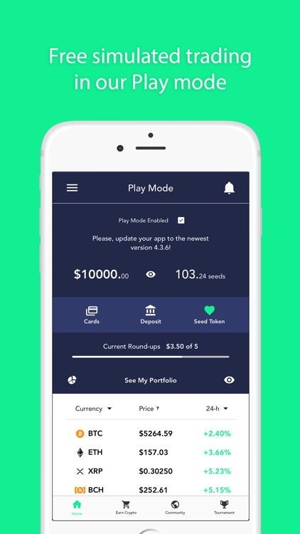 Coinseed - Earn, Invest Crypto screenshot-7