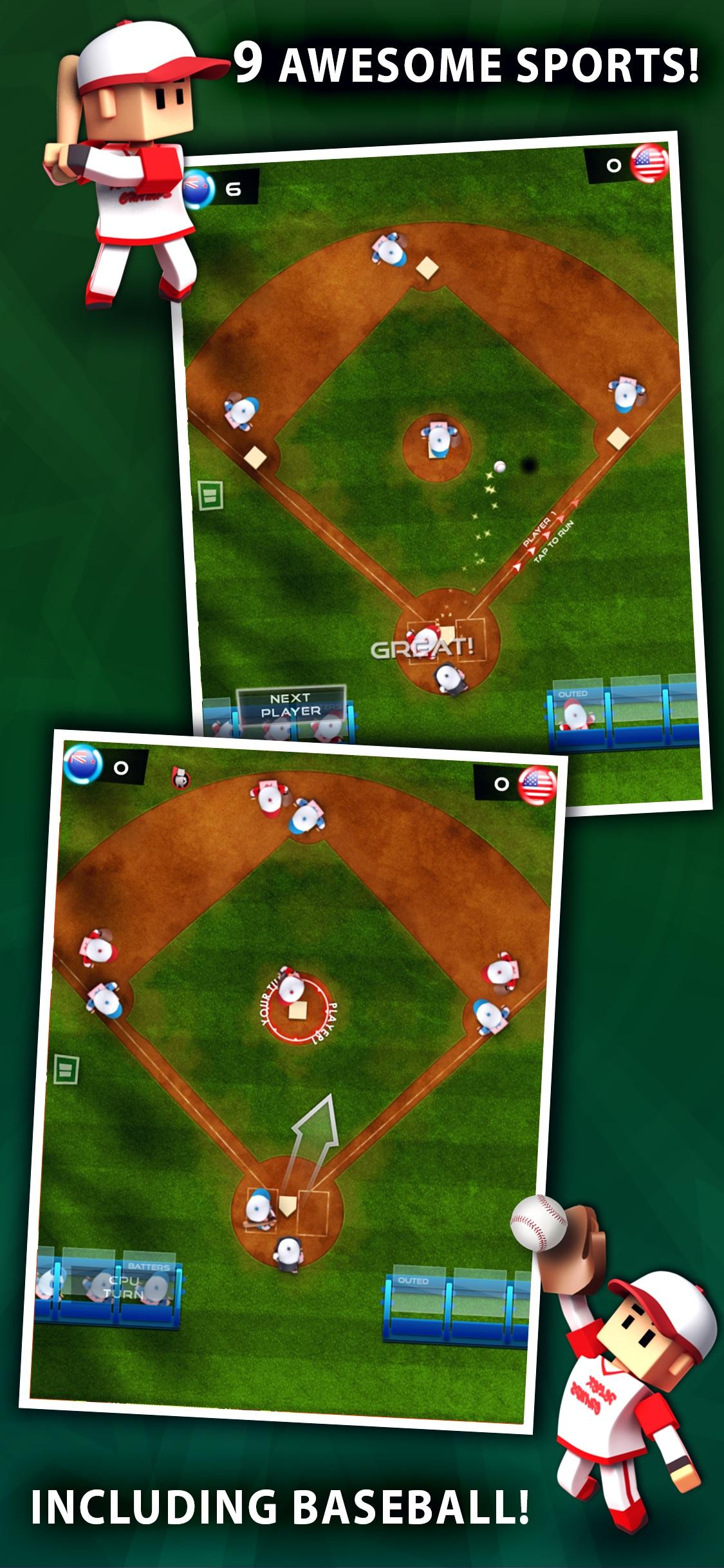 Screenshot do app Flick Champions Classic