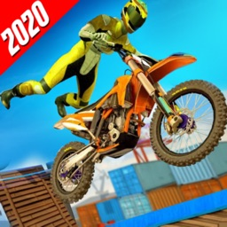 Tricky Bike Stunt Racing Game