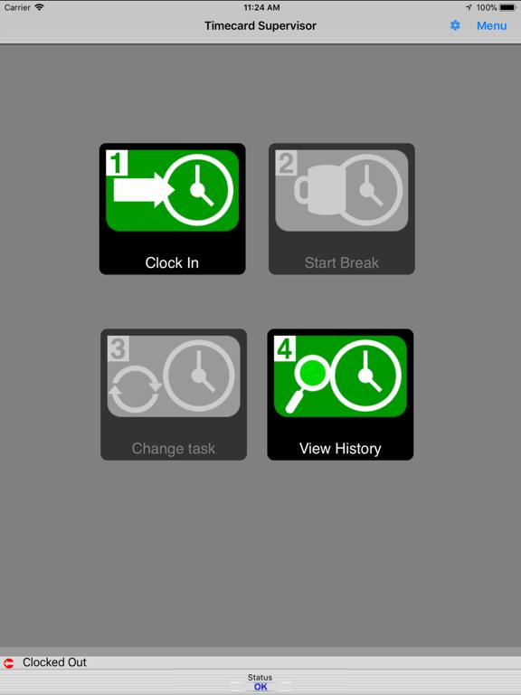 iPad Image of Timecard Supervisor