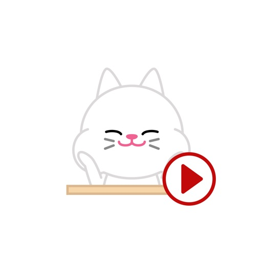 Cute baby cat ver.Moving