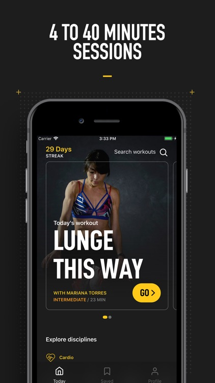 InstaFit Gym: Audio workouts