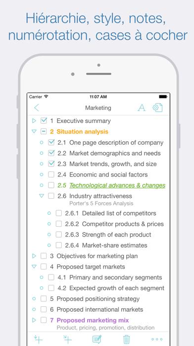 Screenshot #1 pour Cloud Outliner Pro