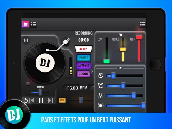 Screenshot #6 pour DJ Mix Maker