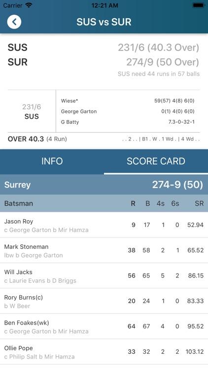 Cricket Live World screenshot-6
