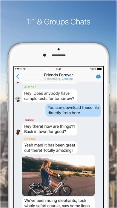 KingsChat screenshot one