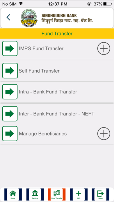 Screenshot for Sindhudurg Bank in United Arab Emirates App Store