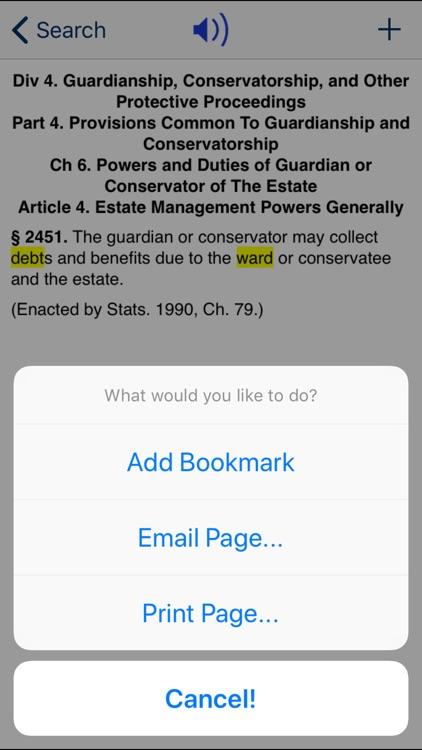 CA Probate Code 2020 screenshot-3