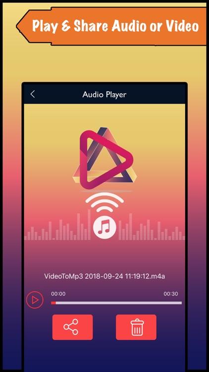 Video to Mp3 - Audio Converter screenshot-4