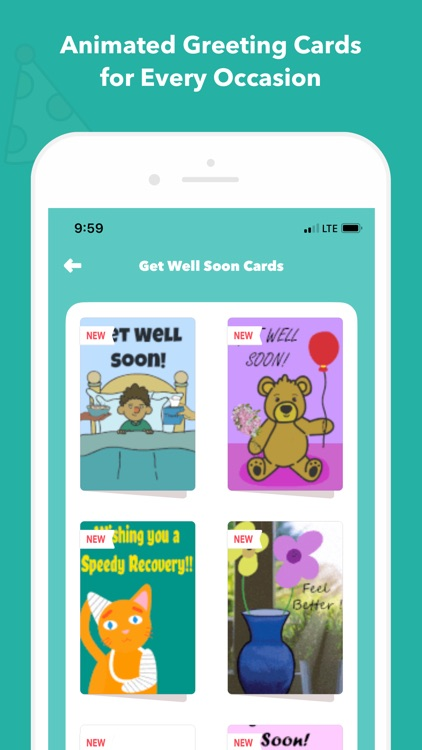 CardSnacks: ecards, greetings screenshot-6