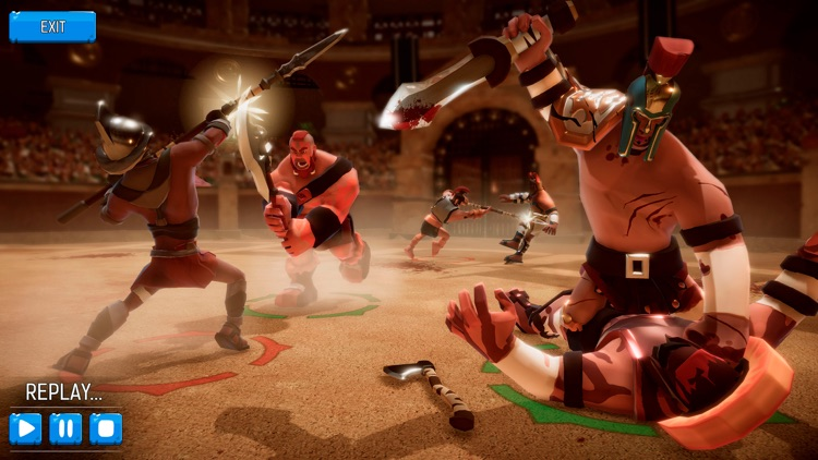 Gladiator Heroes Clash screenshot-1