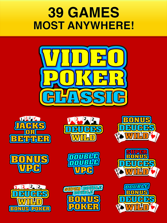 Screenshot #5 pour Video Poker Classic - 39 Games