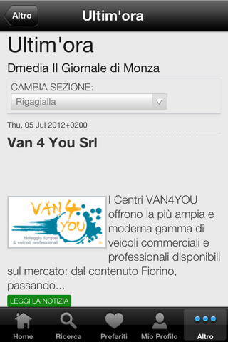 Il Giornale di Monza Digitale - náhled