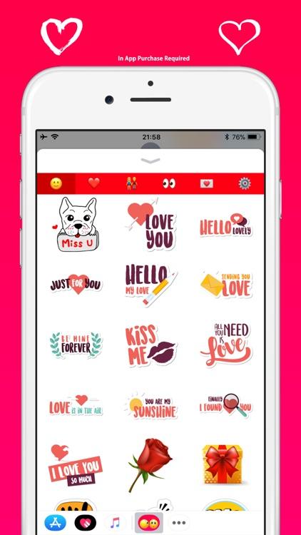 Love Emoji - Cute & Adorable screenshot-6