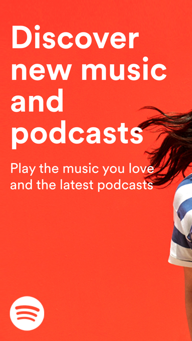 Spotify New Music and podcasts screenshot one