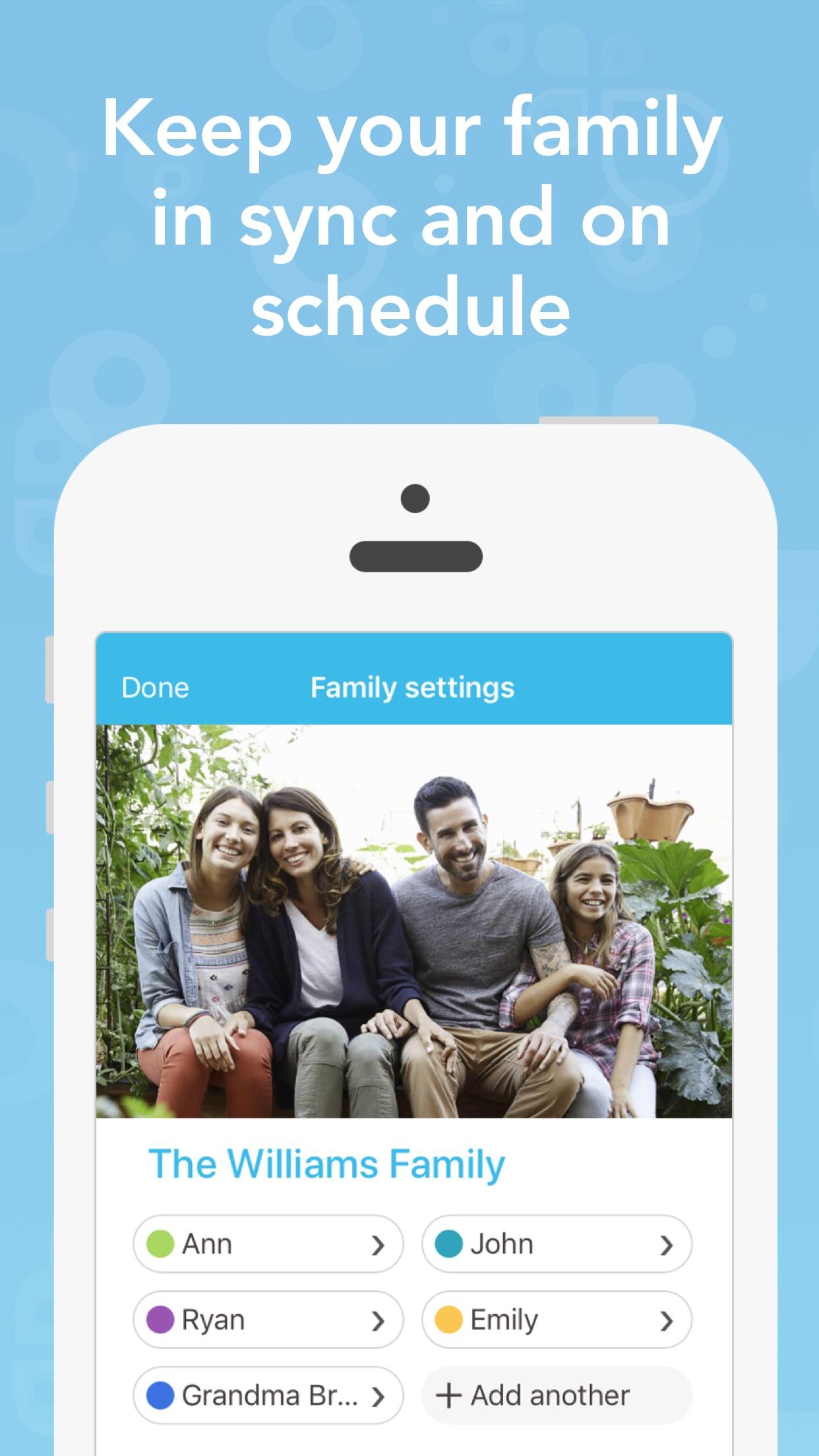 Cozi Family Organiser Screenshot