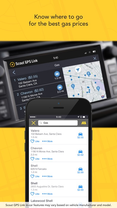 Screenshot for Scout GPS Link in United States App Store