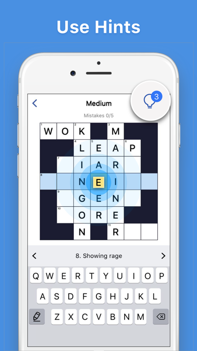 Crosswords - Word Puzzle Game screenshot 4